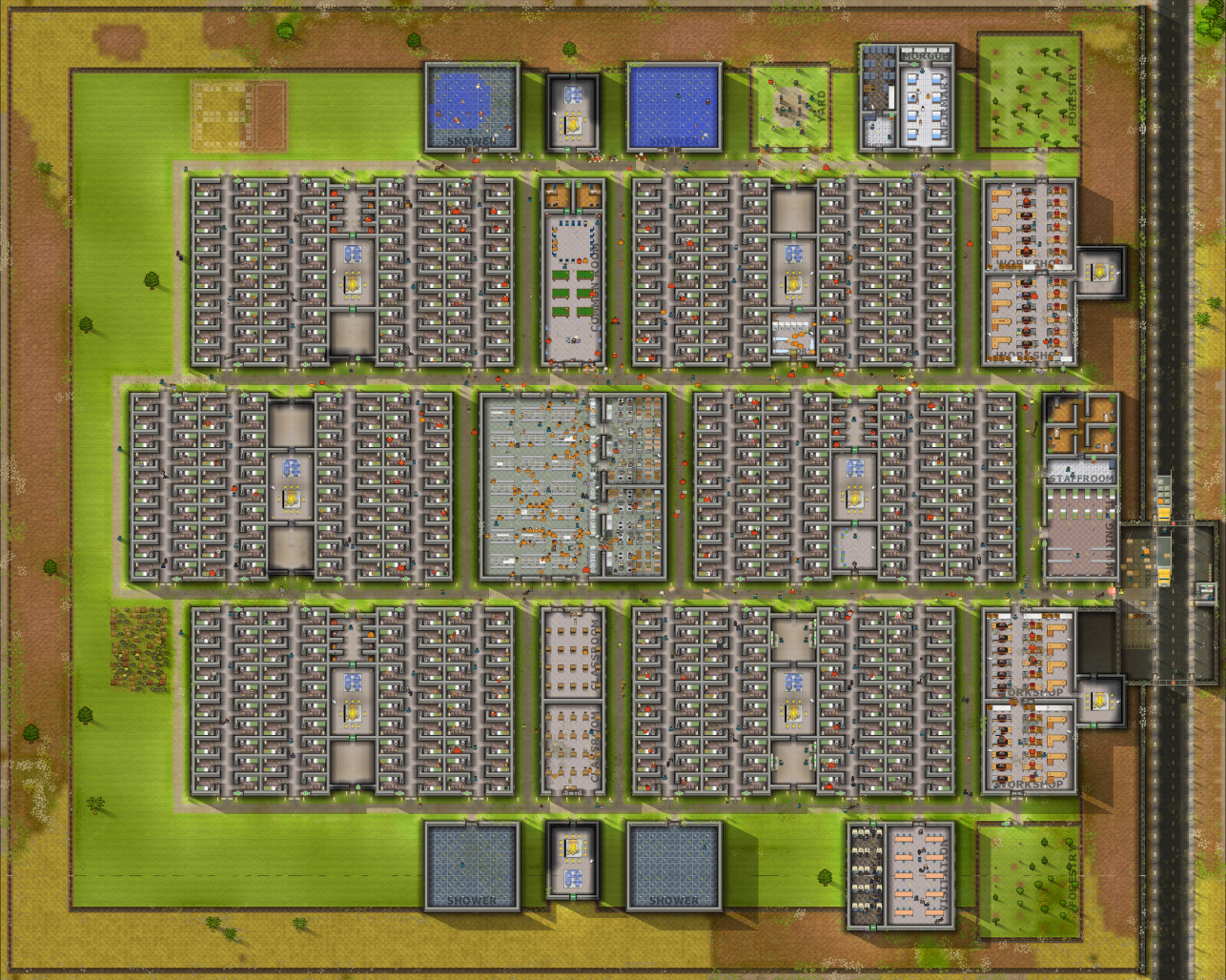 General building layout introversion The best layout